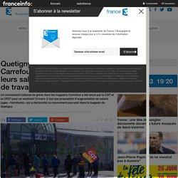 Quetigny : les salariés de Carrefour se mobilisent pour leurs salaires et leu...