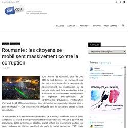 Roumanie: les citoyens se mobilisent massivement contre la corruption