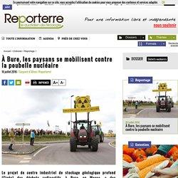 À Bure, les paysans se mobilisent contre la poubelle nucléaire