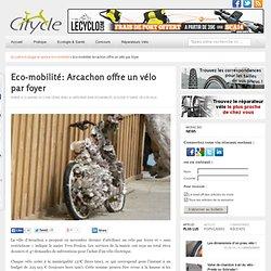 Eco-mobilité: Arcachon offre un vélo par foyer