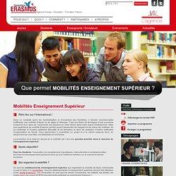 Mobilité d'étude et de stage - Génération Erasmus