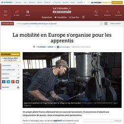 La mobilité en Europe s'organise pour les apprentis