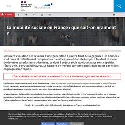 La mobilité sociale en France : que sait-on vraiment ?