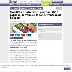 Mobilité : pourquoi iOS 8 gagne du terrain sur la concurrence