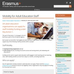 Welcome to Erasmus+ the new EU funding programme for education, training, youth and sport