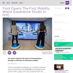 Ford Opens The First Mobility Brand Experience Studio In NYC