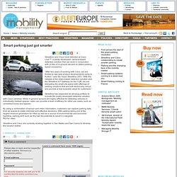 Smart parking just got smarter / SMART MOBILITY MANAGEMENT / News / Mobility industry