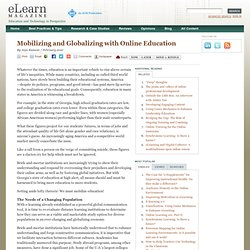 Mobilizing and Globalizing with Online Education