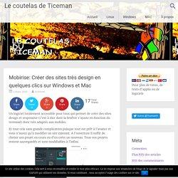 Mobirise: Créer des sites très design en quelques clics sur Windows et Mac