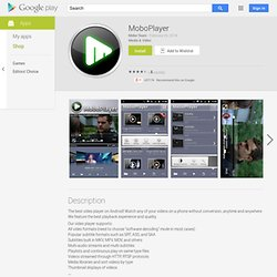 MoboPlayer - Android Apps on Google Play