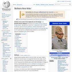 Mobutu Sese Seko - wikipedia