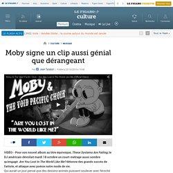 Moby signe un clip aussi génial que dérangeant