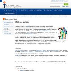 MoCap Toolbox