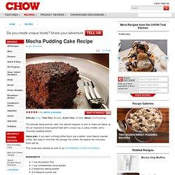 Mocha Pudding Cake Recipe