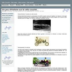 Mochet invente le vélo couché