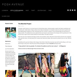 The Mochila Project — POSH AVENUE