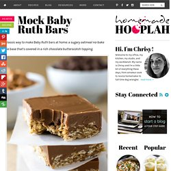 Mock Baby Ruth Bars — Homemade Hooplah