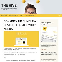 50+ Mock up Bundle - Designs For All Your Needs - The Hive
