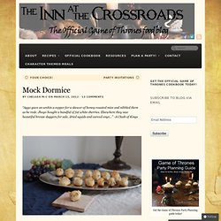 Mock Dormice | Inn at the Crossroads
