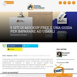 5 siti di mockup free e una guida per imparare ad usarli
