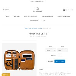Mod Tablet 3 – thisisground