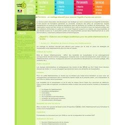 Action 3.2 : Modalités de mise en réseau des établissements