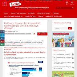 Modalités de formation : le présentiel se maintient en France