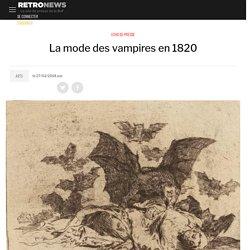 La mode des vampires en 1820