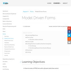 Model Driven Forms
