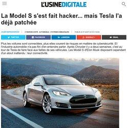 La Model S s'est fait hacker... mais Tesla l'a déjà patchée