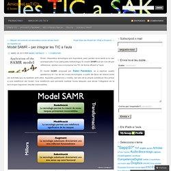 Model SAMR – per integrar les TIC a l'aula
