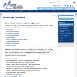 Model Legal Documents