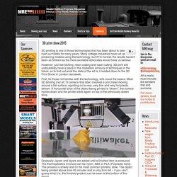 Model Railway Express - MREmag.com - 3D print show 2015