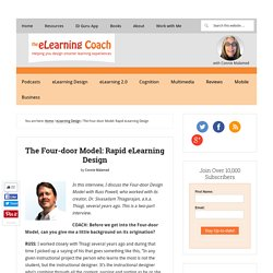 The Four-door Model: Rapid eLearning Design