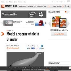 Model a sperm whale in Blender 2.5
