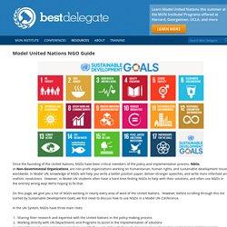 Model United Nations NGO Guide