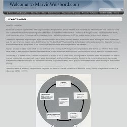 SIX-BOX MODEL - Welcome to MarvinWeisbord.com