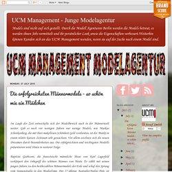UCM Management - Die erfolgreichsten Männermodels