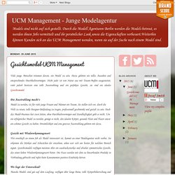 UCM Management - Junge Modelagentur: Gesichtsmodel-UCM Management