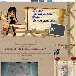 Modèle et Tuto brassière tricot... n°2 ! - Pilarcita