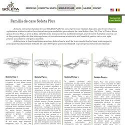 Modele de case ecologice, din lemn, Soleta