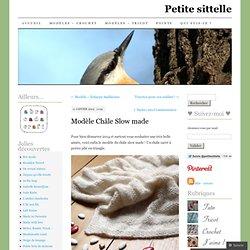 Modèle Châle Slow made