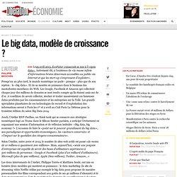 Le big data, modèle de croissance ?