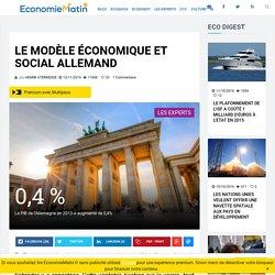 Le modèle économique et social allemand