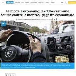Le modèle économique d'Uber est «une course contre la montre», juge un économiste