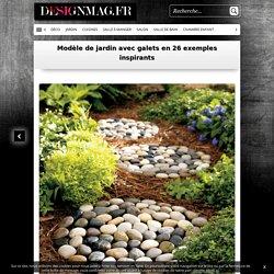 Modèle de jardin avec galets en 26 exemples inspirants -