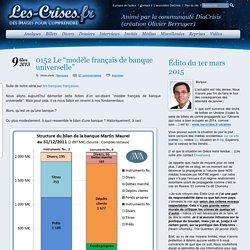 """» 0152 Le """"modèle français de banque universelle"""""""