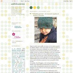 Un bonnet rapide et facile à tricoter