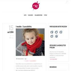 1 modèle = 3 possibilités. - Blog Phildar