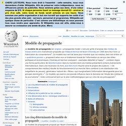 Modèle de propagande